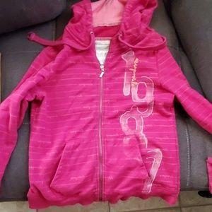 Pink aeropostale hoodie